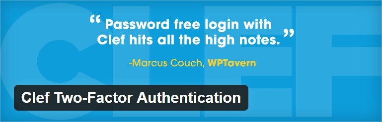 Plugin WordPress Clef Two-Factor Authentication