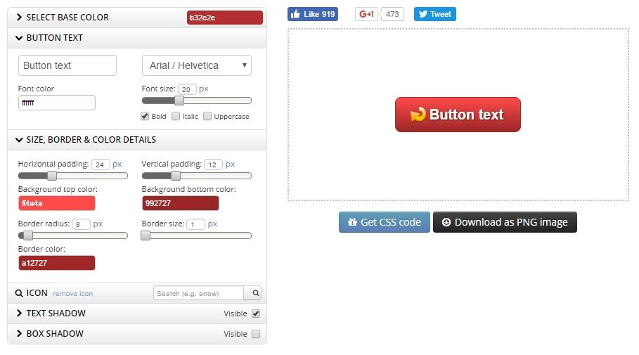 générateur de bouton d'appel à l'action buttonoptimizer